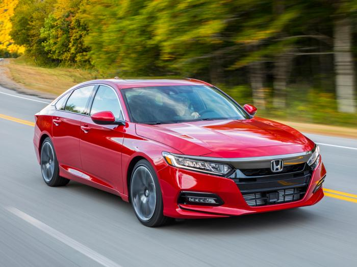 This photo provided by Honda shows the Accord, which has a long history of excellence as a family sedan