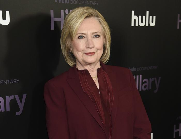 Former secretary of state Hillary Clinton